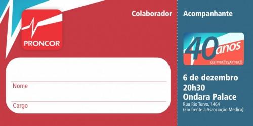 40 ANOS- convite colaboradores