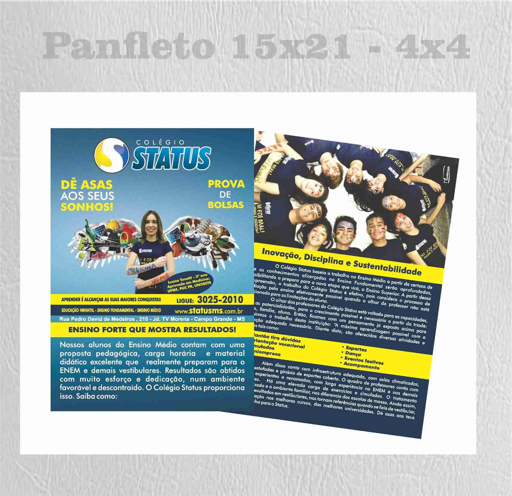 STATUS PANFLETO
