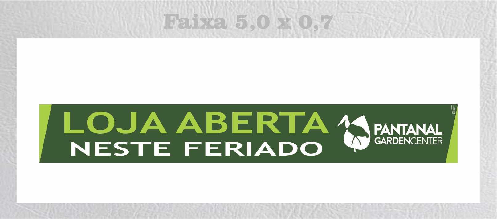 PANTNALA FAIXA FERIADO