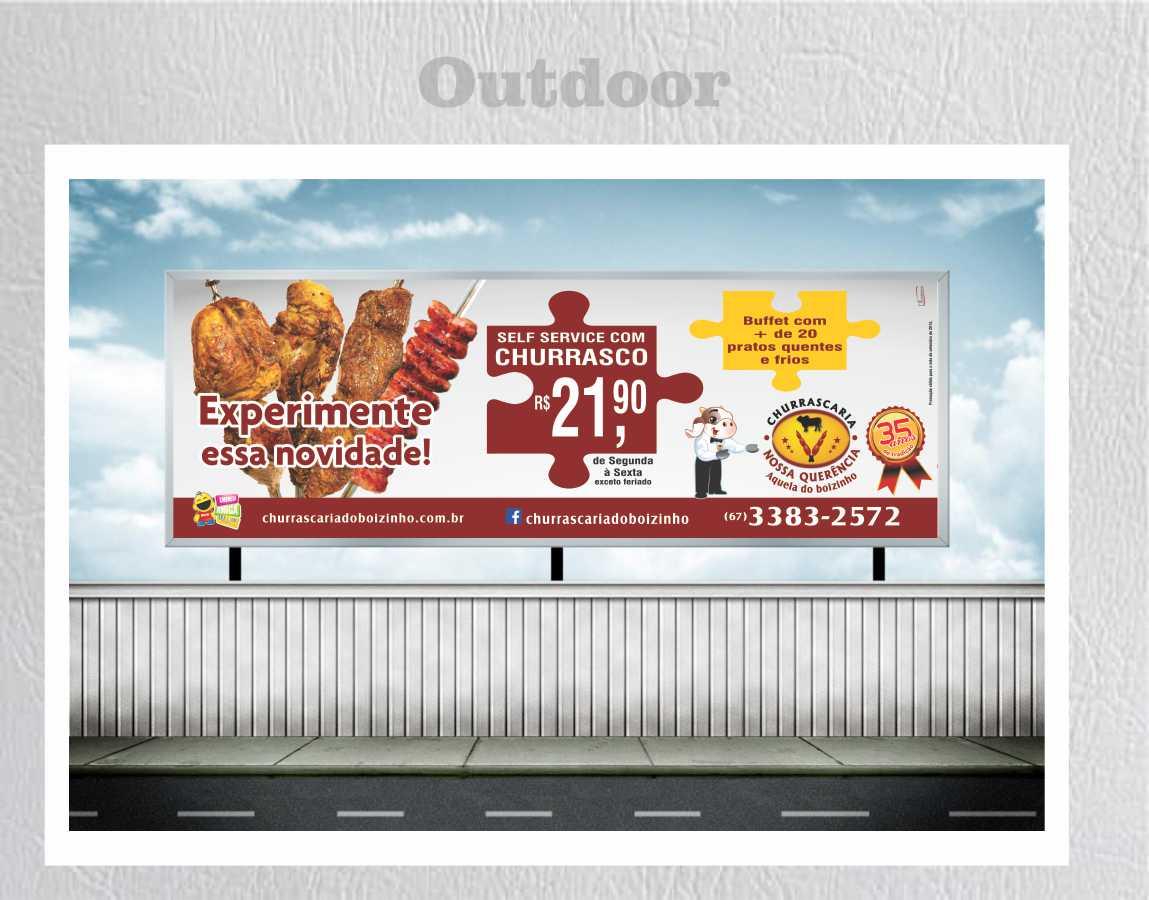 boizinho outdoor churrasco