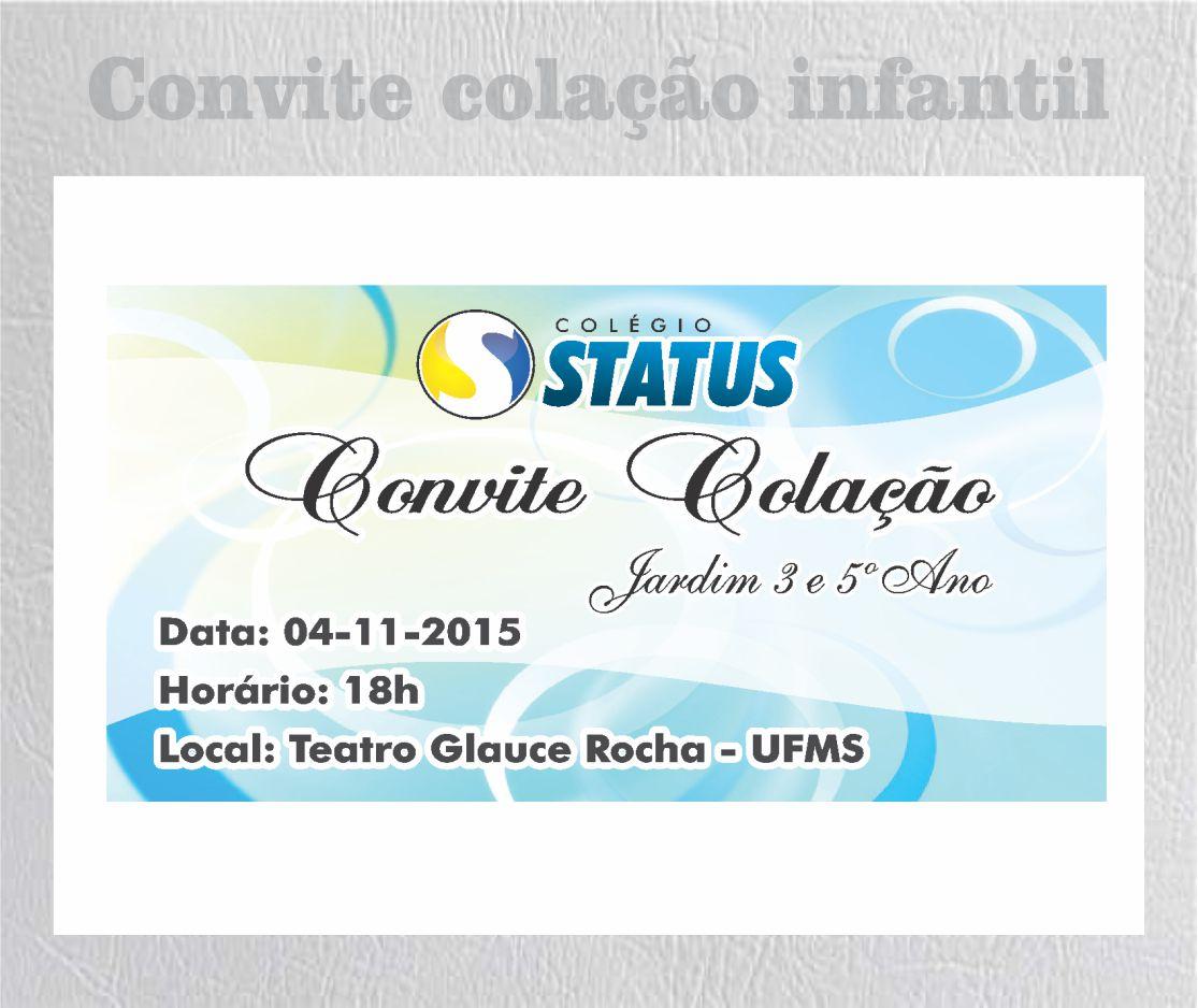status colaçao inf