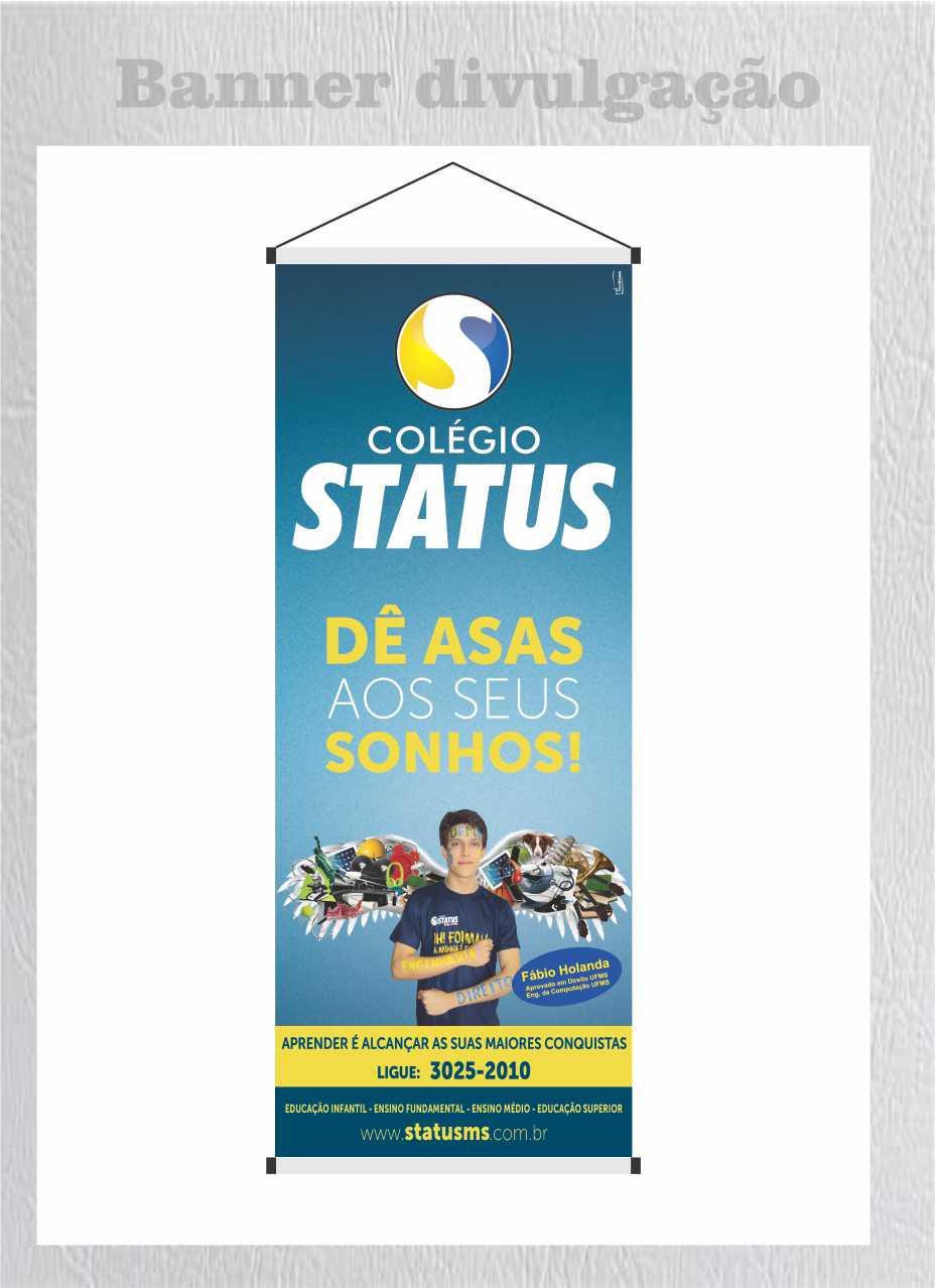 STATUS  banner divulgação